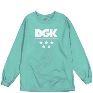 DGK All Star Long Sleeve T-Shirt - Blue