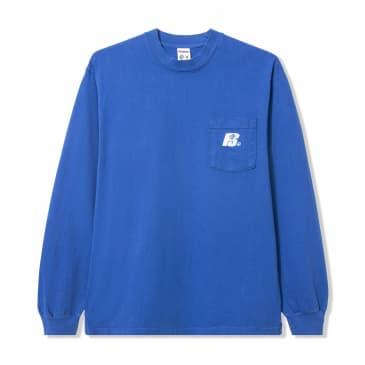 Powers Heavy Long Sleeve T-Shirt - Blue