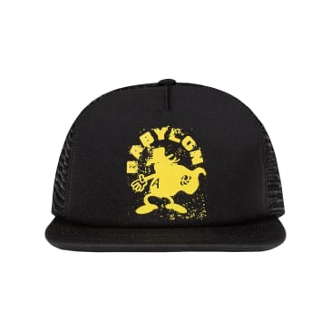 "BABYLON LA - ""BURGLE TRUCKER HAT"" (BLACK)"