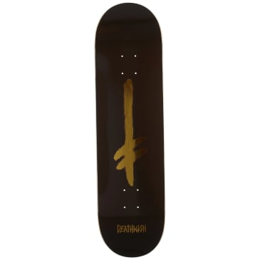 Deathwish Credo Deck (Brown/Gold)- 8.475
