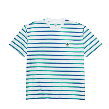 Polar Stripe Pocket Tee - Blue