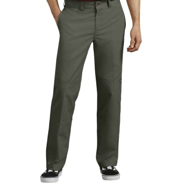 Dickies 896 '67 Flex Regular Fit Double Knee Work Pant Olive Green