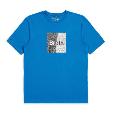 Brixton - Crowd Art S/S Tee - Royal