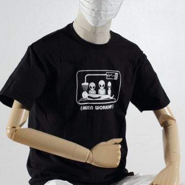 Alien Workshop Abduction T-Shirt - Black