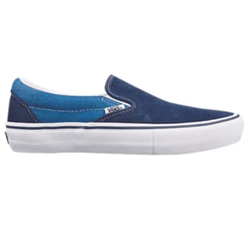 Vans Slip-On Pro - Navy / Sea Blue