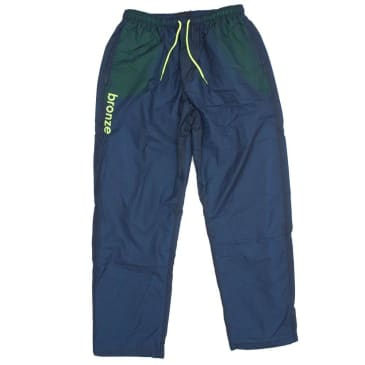 BRONZE SPORTS PANTS - NAVY LIME