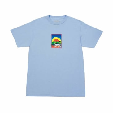 Quartersnacks Track Club Postcard T-Shirt - Powder Blue