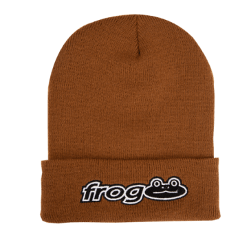 Frog Skateboards Works Beanie - Caramel