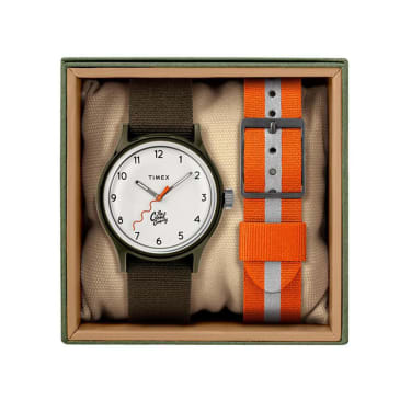 The Good Company - The Good Company x Timex MK1 02 - Olive/Brown