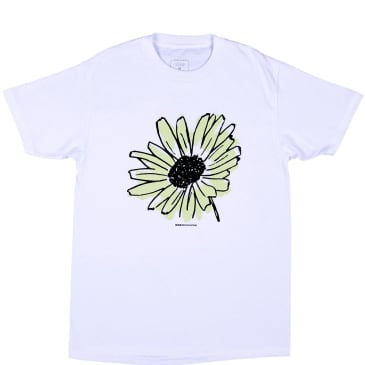 Quasi Flower T-Shirt - White