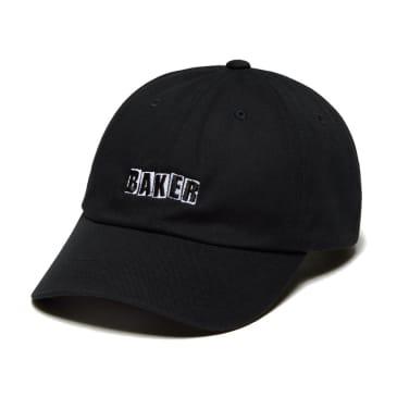 baker brand logo unstructured cap (black)