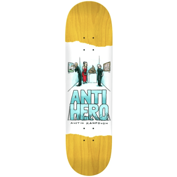 Anti-Hero Skateboards Deck Kanfoush Expressions 8.06""