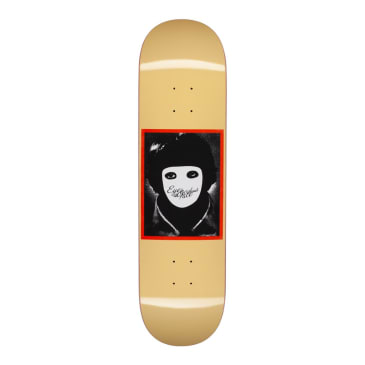 Hockey No Face Yellow Skateboard Deck - 8.25""