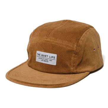 The Quite Life - Cord 5 -Panel Camper Hat - Tan