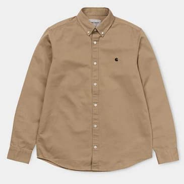 Carhartt WIP - L/S Madison Shirt - Leather