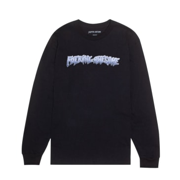 Fucking Awesome Chrome Long Sleeve T-Shirt - Black