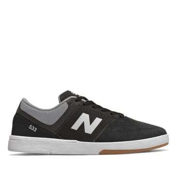 New Balance Numeric 533 Skateboard Shoe - Black/White