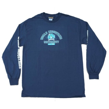 World Industries Wet Willy University Long sleeve - Navy