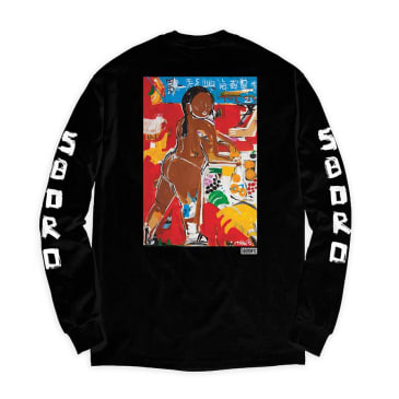 5Boro - Chinatown Girl Long Sleeve Tee - Black