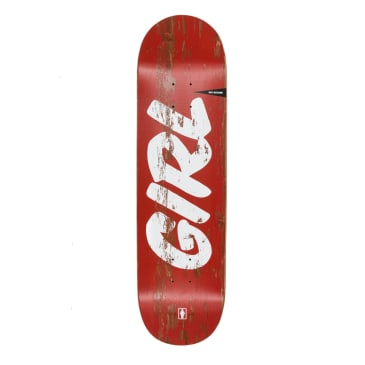 Girl Sign Painter Rick McCrank Deck - 8.5""