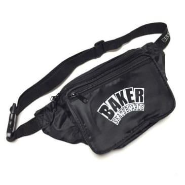 BAKER - ARCH LOGO SHOULDER BAG - BLACK
