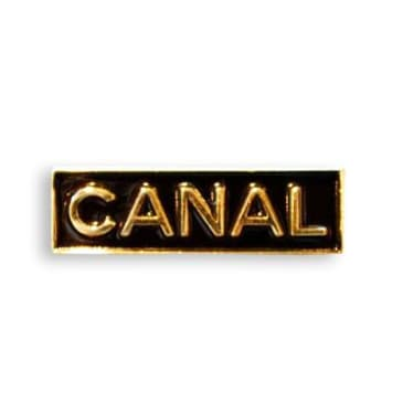 Canal New York - Logo Pin