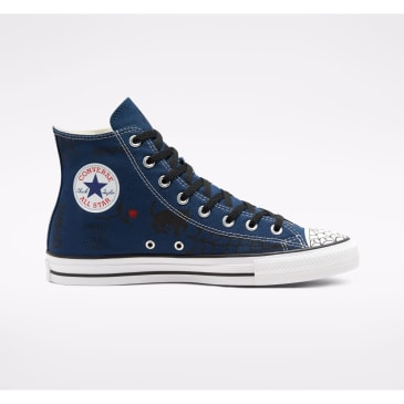 Converse Cons Sean Pablo CTAS Pro High Top Skateboarding Shoe - Navy / Black / White