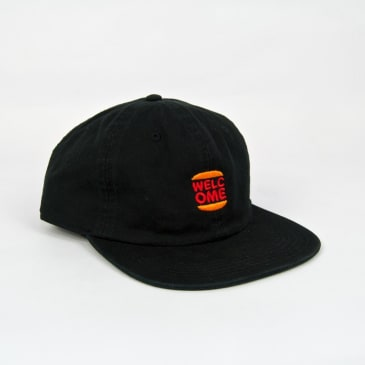 Welcome Skate Store - Burger Cap - Black