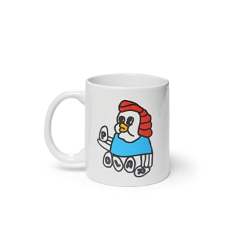Polar Skate Co Chicken Mama Mug - White