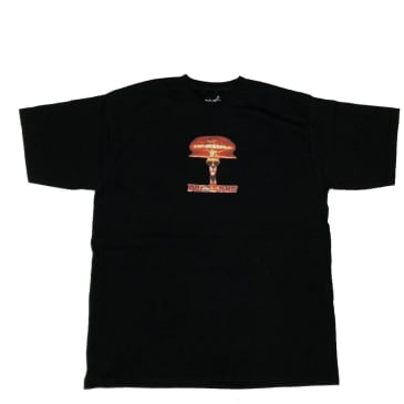 Tuesdays Skate Shop Tuesdays 'Butane Head' T-Shirt - Black