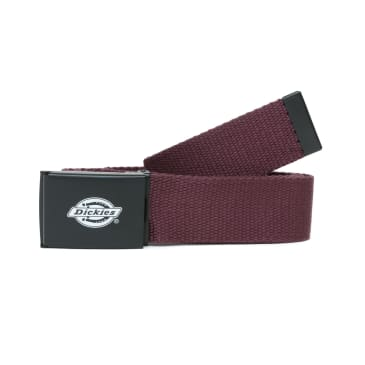 Dickies Orcutt Web Belt - Maroon