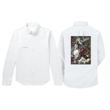 Poetic Collective Still Life L/S Shirt White