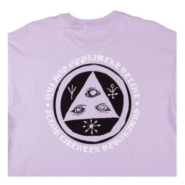 Welcome Skateboards - Latin Tali 2 Premium Tee (Lavender)
