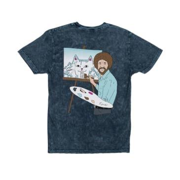 Ripndip - Rip N Dip Beautiful Mountain T-Shirt | Baby Mineral Blue