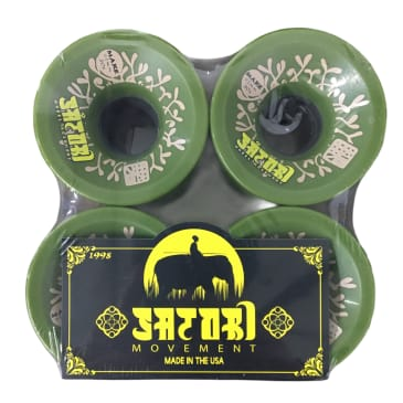 Satori Wheels Make Collab 80A 63mm
