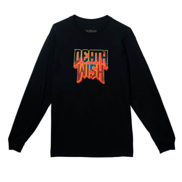 Deathwish Raising Hell Long Sleeve T-Shirt - Black