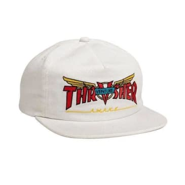 Thrasher - Venture Collab Hat ADJ White