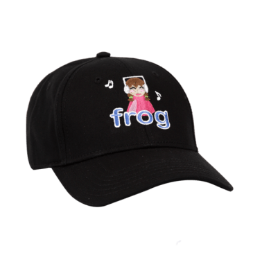 Frog Skateboards I'm Not Listening Hat - Black