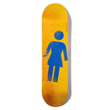 Girl Skateboards Roller OG Deck Gass 7.75