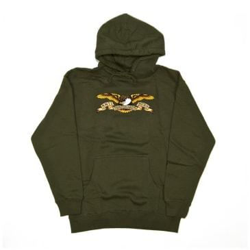 Antihero Eagle Hoodie - Army Green