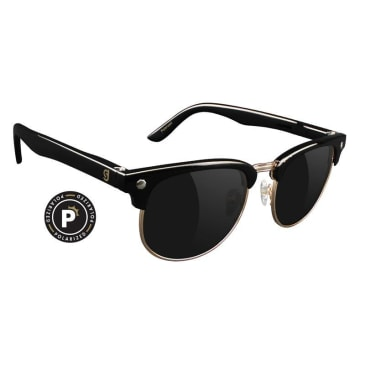 Glassy Morrison Polarized Black/Gold