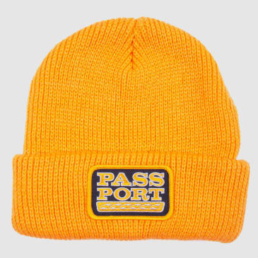 Pass Port Skateboards - Auto Patch Beanie - Gold