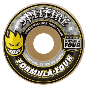 Spitfire Formula Four Conical Wheels Natural 52 mm 99