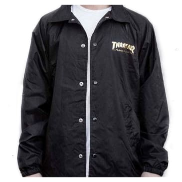 Thrasher Pentagram Coaches Jacket Black