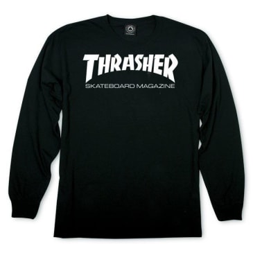 Thrasher - Skate Mag LS Black/White M