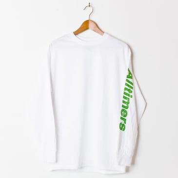 Alltimers Sears Long Sleeve T-Shirt - White