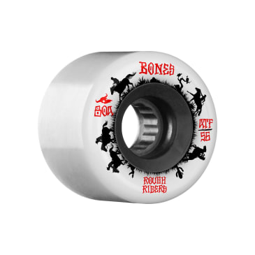 Bones ATF Rough Riders wheels (56mm, 86A), white