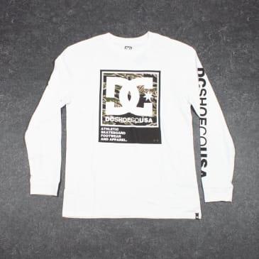 DC Arakana L/S T-Shirt - White