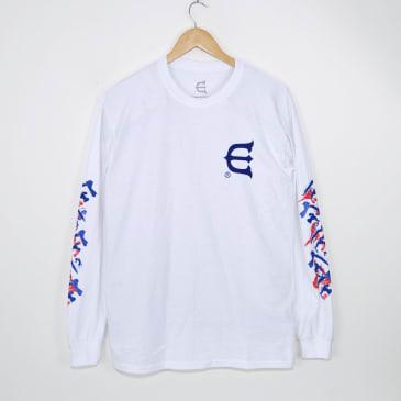 Evisen Skateboards - Dosu Longsleeve T-Shirt - White