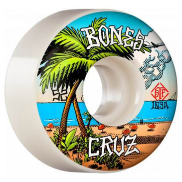 Bones Cruz Buena Vida Wheels V2 Locks STF 103a 52mm